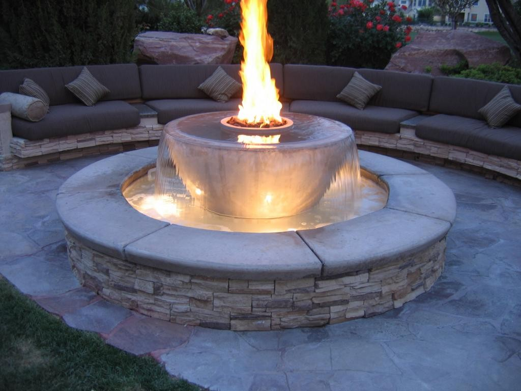 Image of: Fire Pit Landscaping Ideas