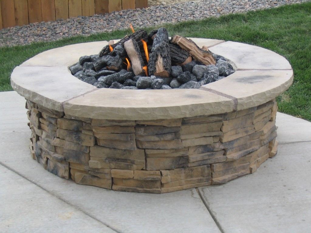 Image of: Fire Pit Plans