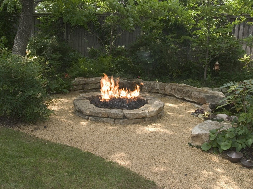 Image of: Fire Pits Outdoor