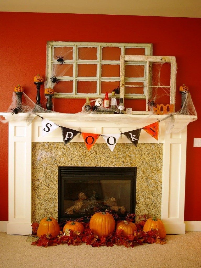 Image of: Fireplace Mantel Decoration Ideas