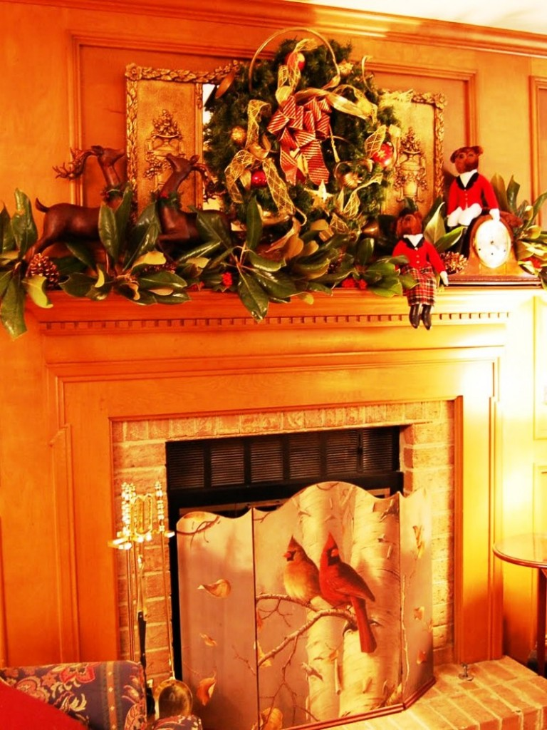 Image of: Fireplace Mantel Designs