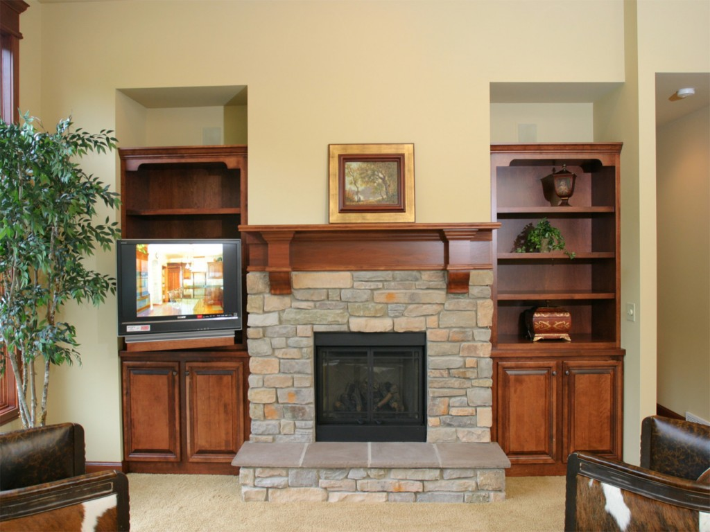 Image of: Fireplace Mantel Idea