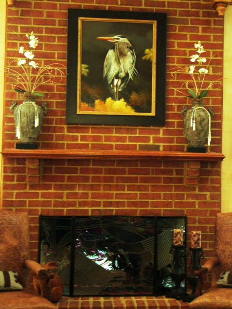 Image of: Fireplace Mantel Shelf Designs