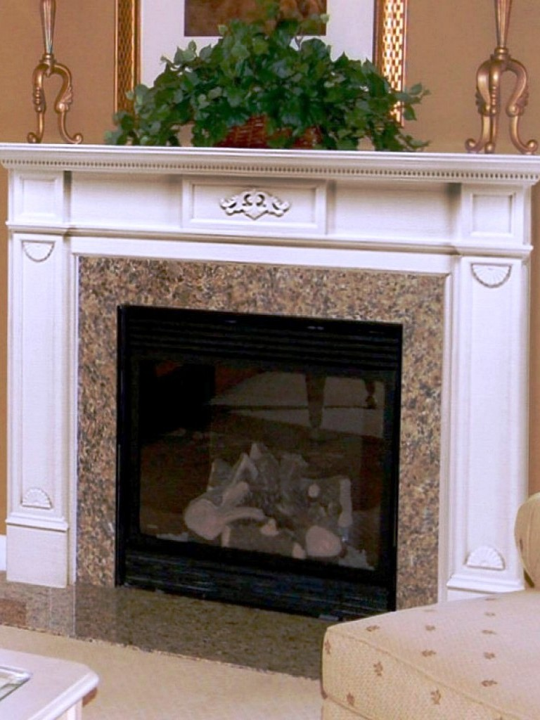 Image of: Fireplace Mantels Decorating
