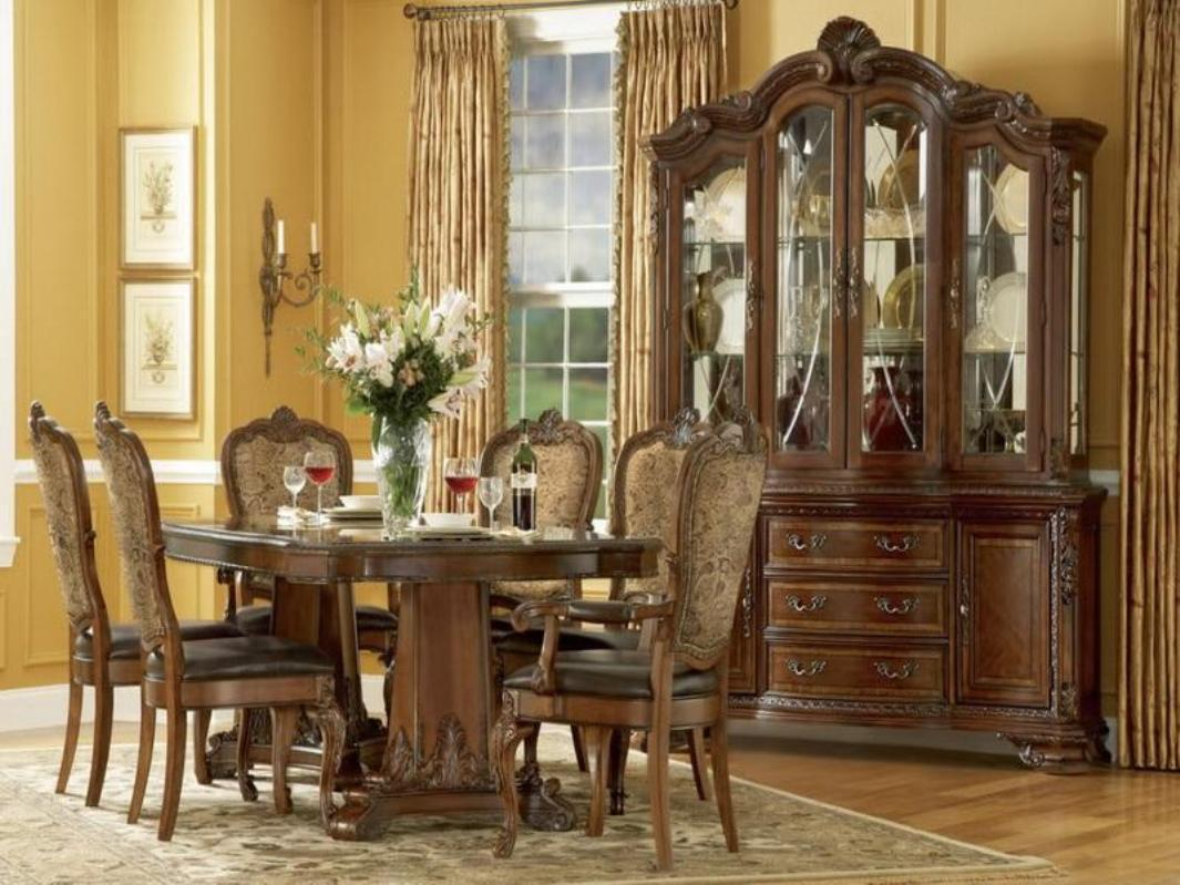 Image of: Formal Dining Room Table