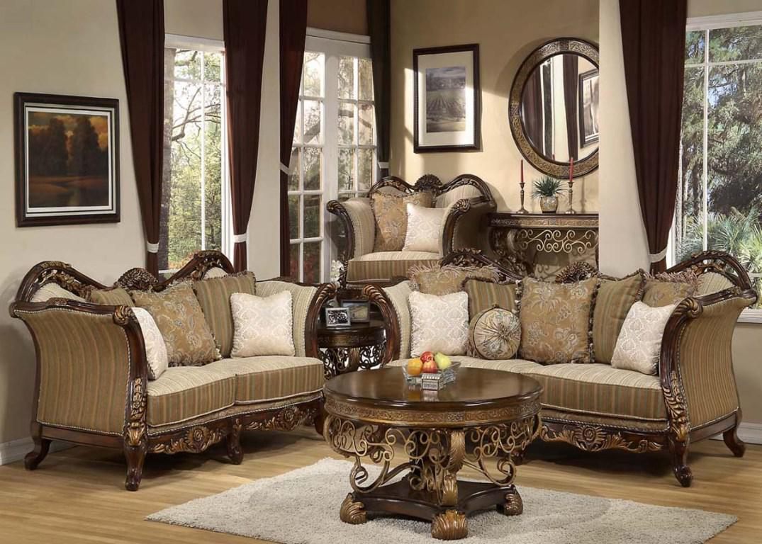 Image of: Formal Living Room Furniture Ideas