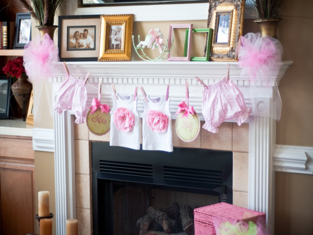 Girl Baby Shower Decoration