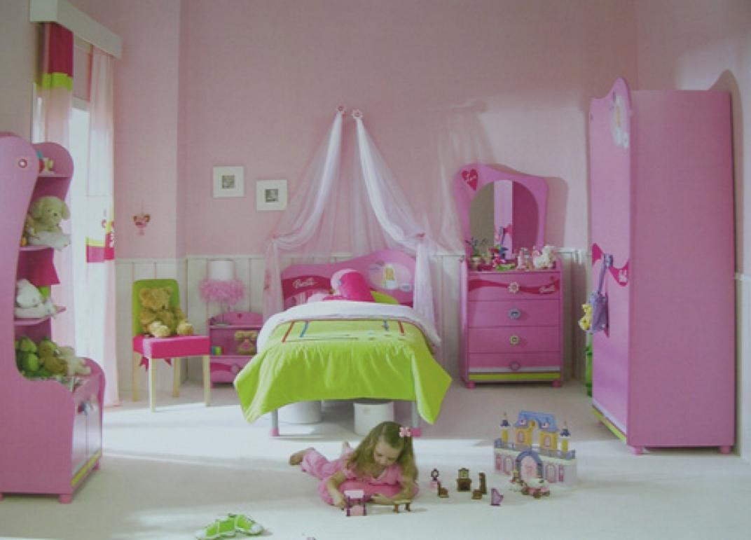 Image of: Girls Canopy For Bed