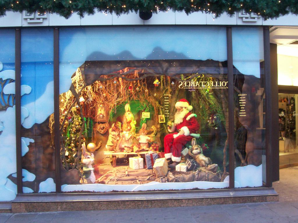 Holiday Christmas Window Decorations