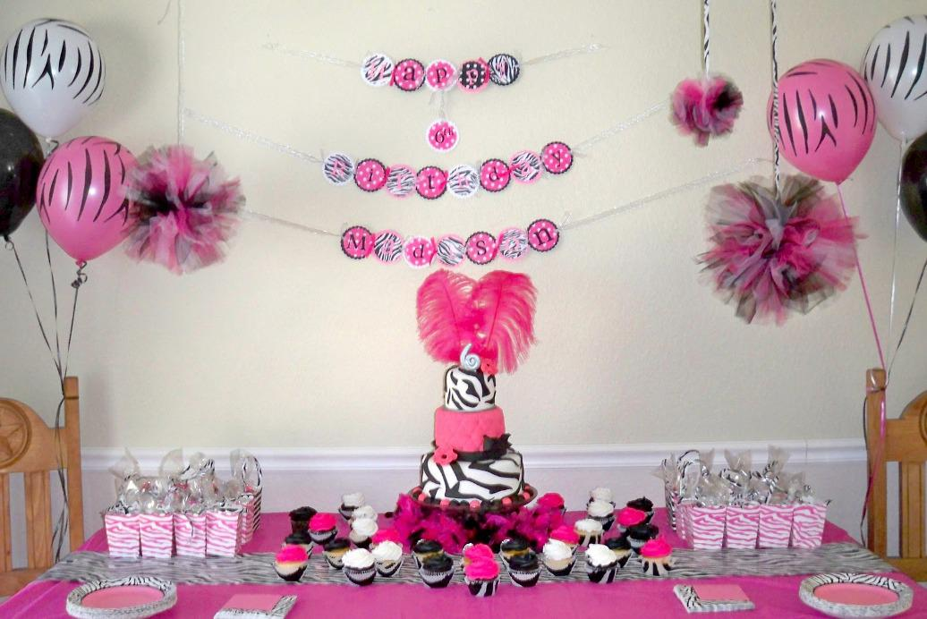Image of: Homemade Party Decorations