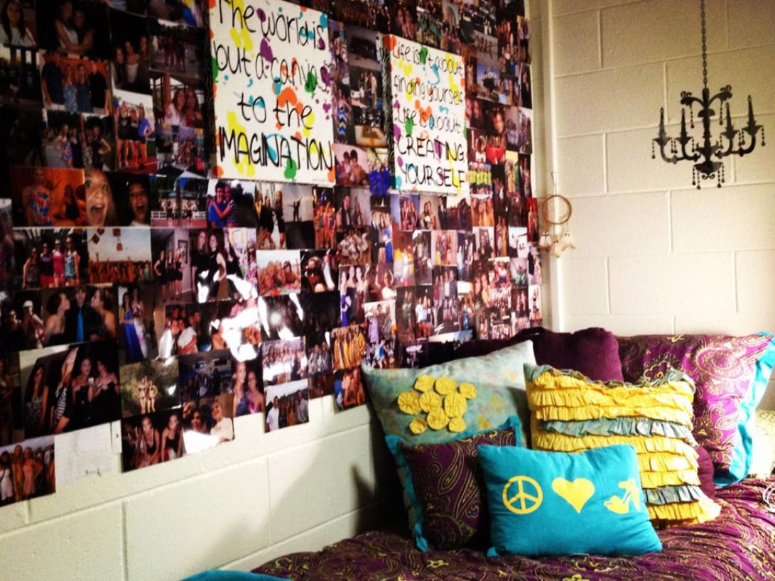 Image of: Ideas for Dorm Room Decorating
