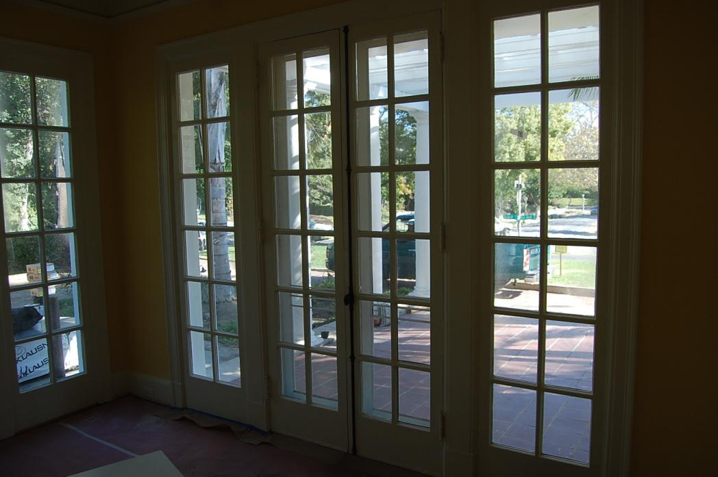 Image of: Installing French Doors Exterior