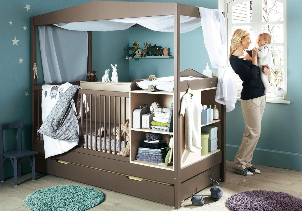 Image of: Kids Canopy Beds Designs Ideas