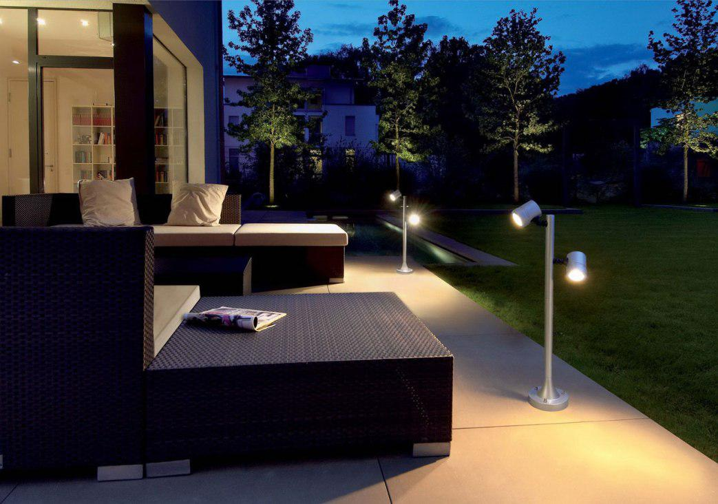 Image of: LED Exterior Lighting Fixtures