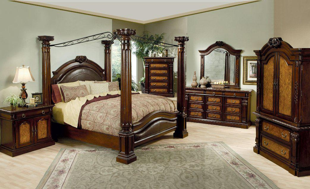 Image of: Metal Canopy Bed Frame