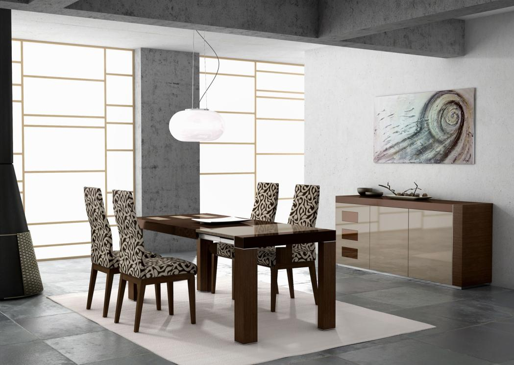 Image of: Modern Dining Room Furniture