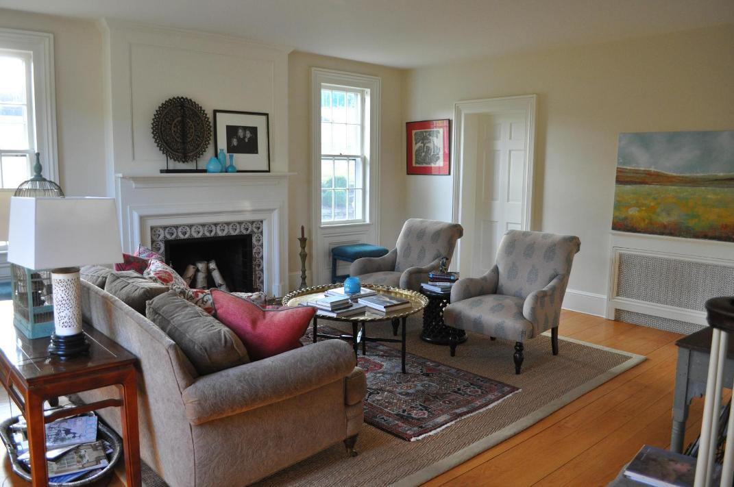 Image of: Modern Eclectic Living Room