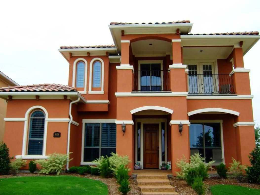 Image of: Modern Exterior Paint Colors