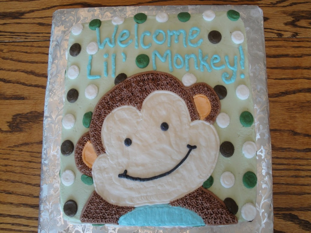 Image of: Monkey Baby Shower Favors