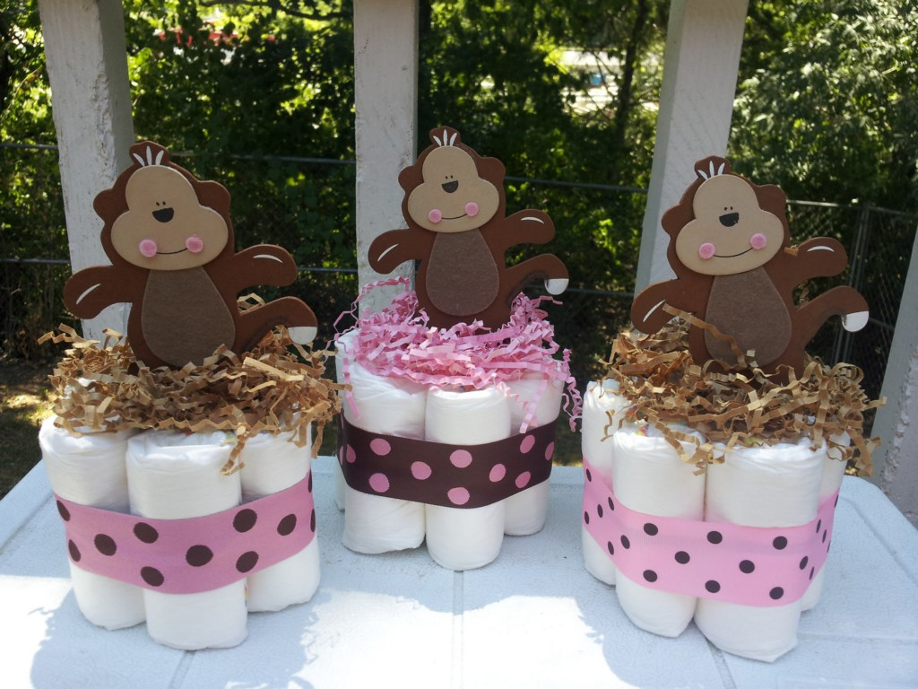 Image of: Monkey Baby Shower Theme