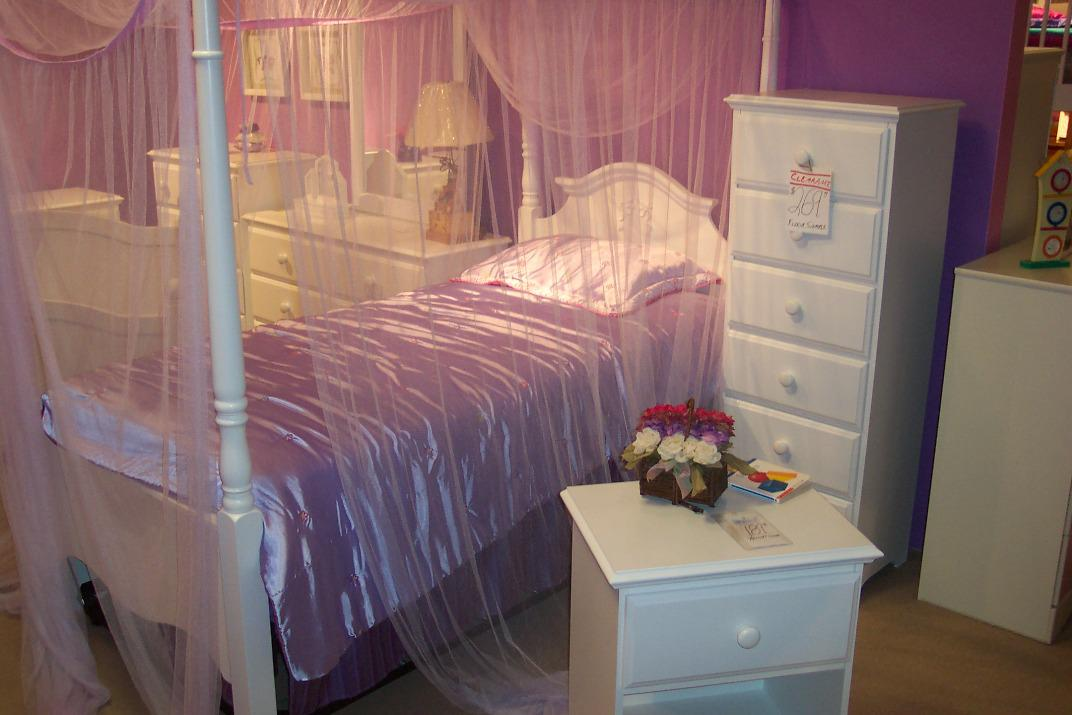 Image of: Net Canopy For Girls Bed