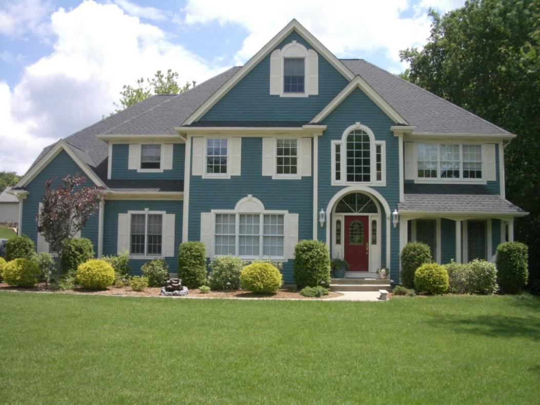 Image of: Picking Exterior Paint Colors