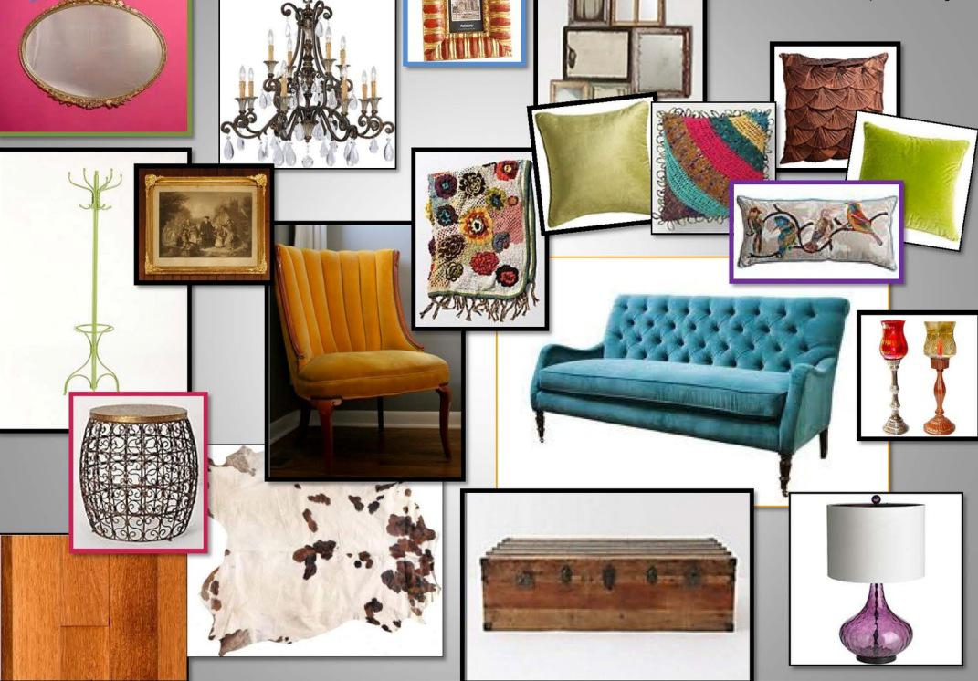 Image of: Pictures of Eclectic Living Rooms