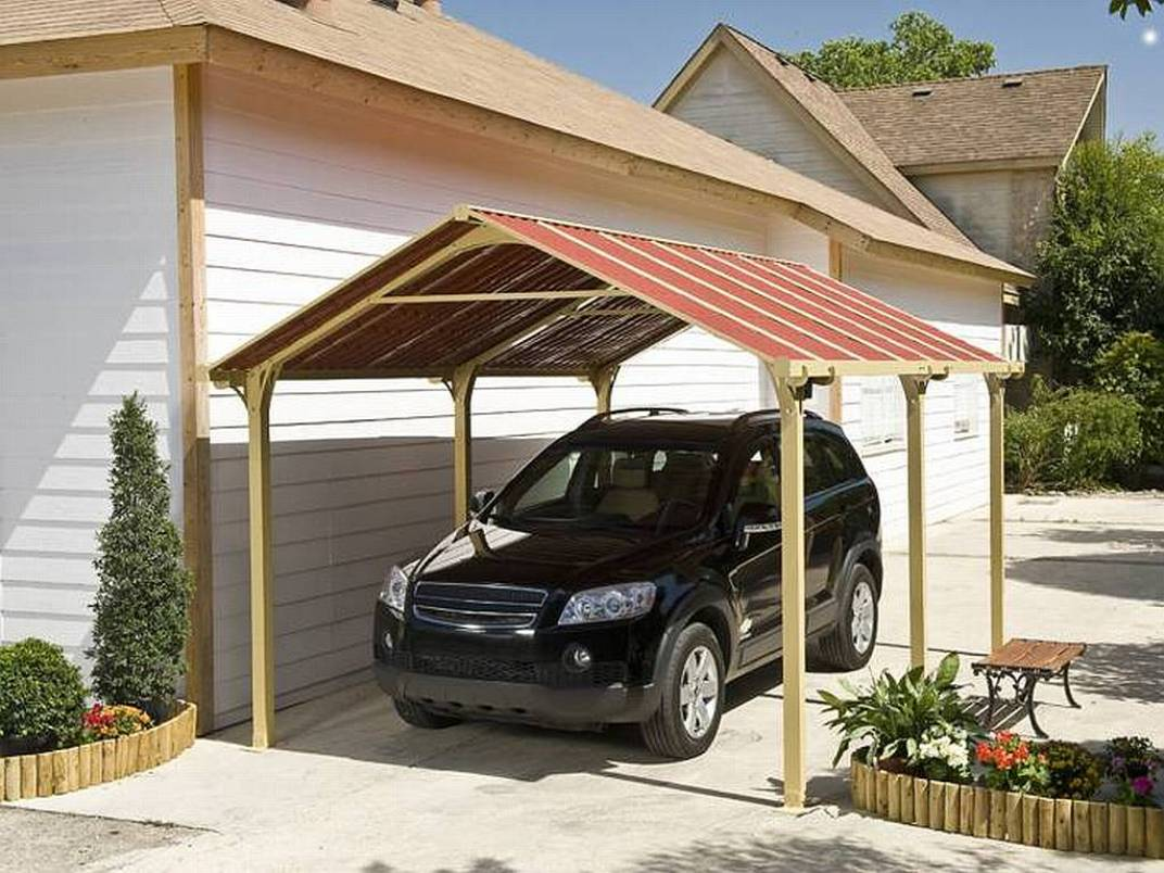 Image of: Portable Carport Canopy