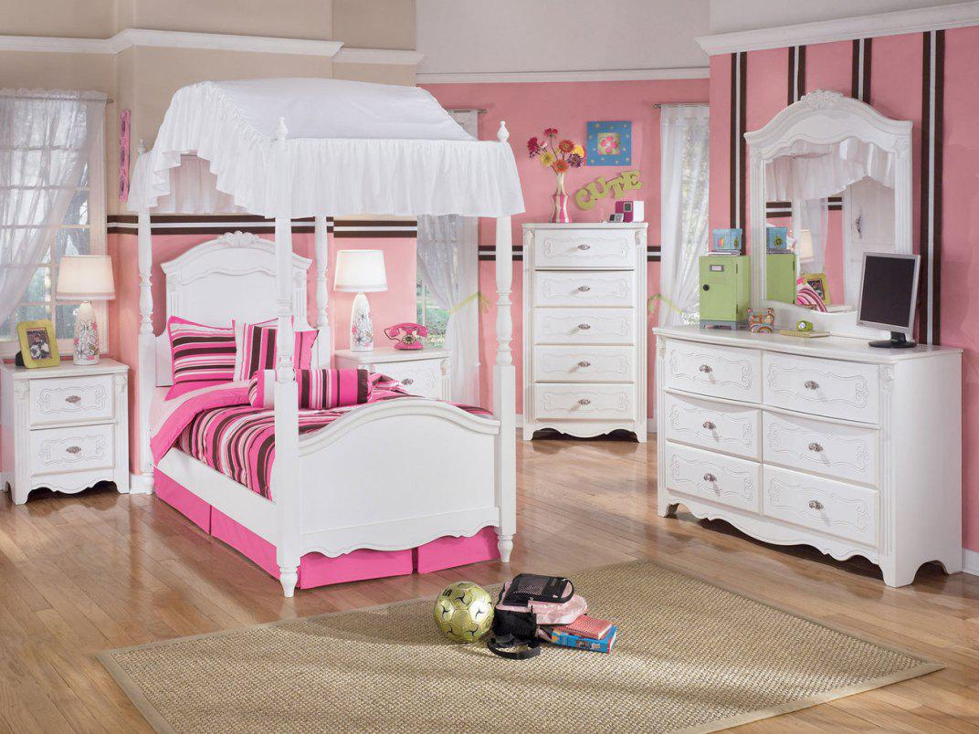 Image of: Princess Canopy Beds For Girls Designs Ideas