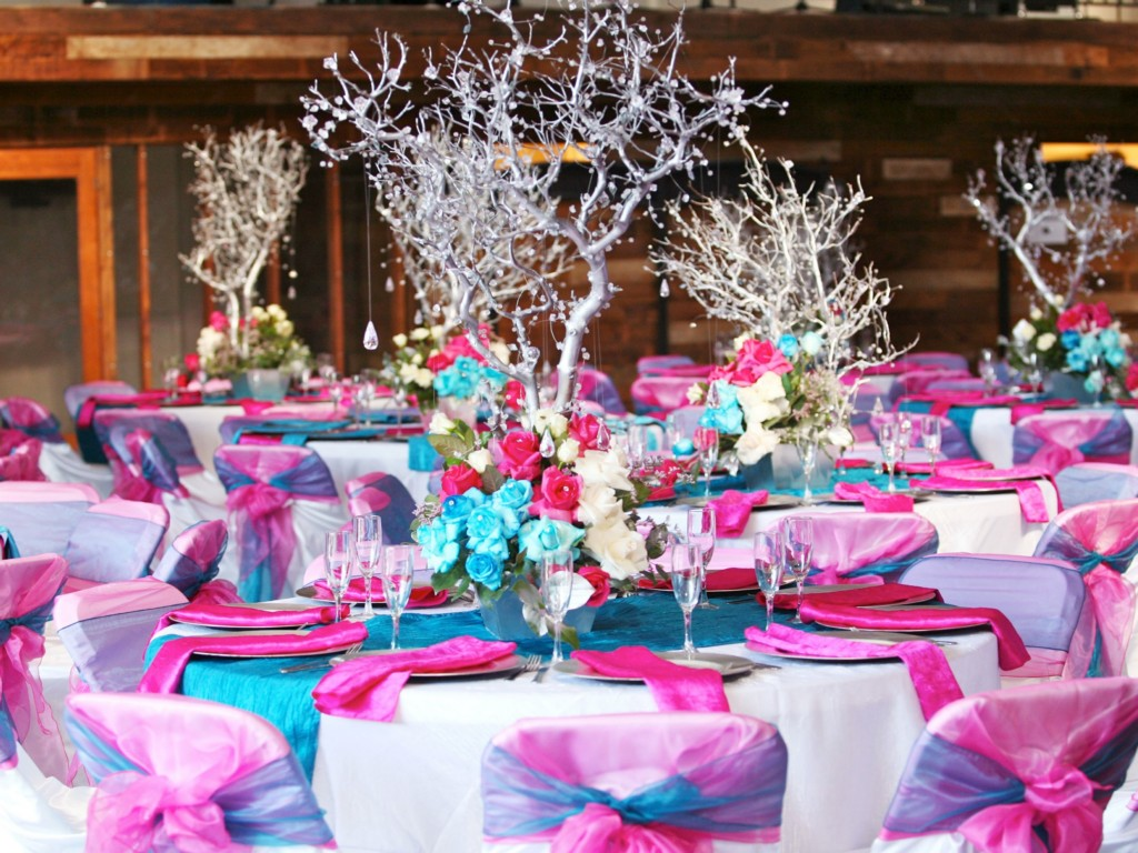 Image of: Quinceanera Candy Centerpieces