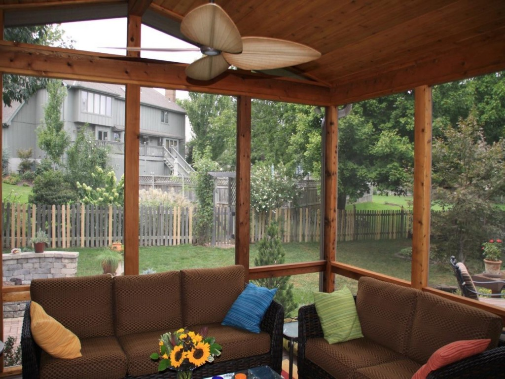 Image of: Screen Porch Photos