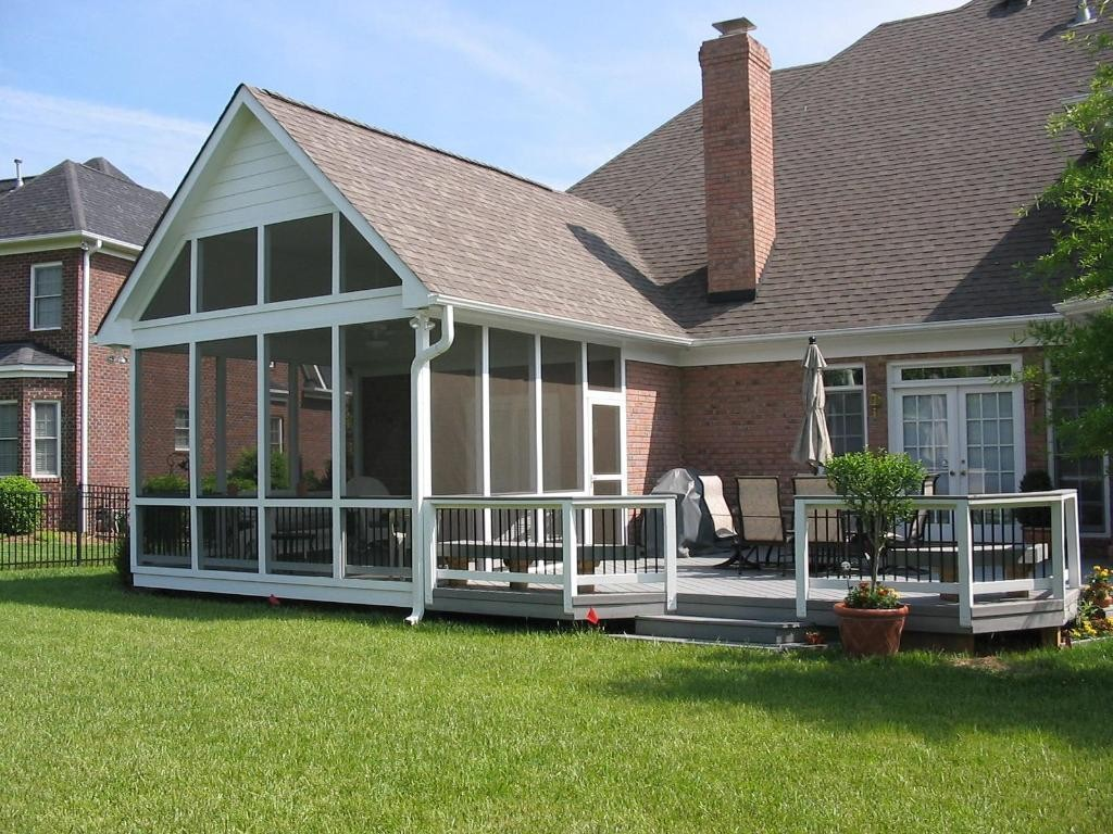Image of: Screen Porches Designs
