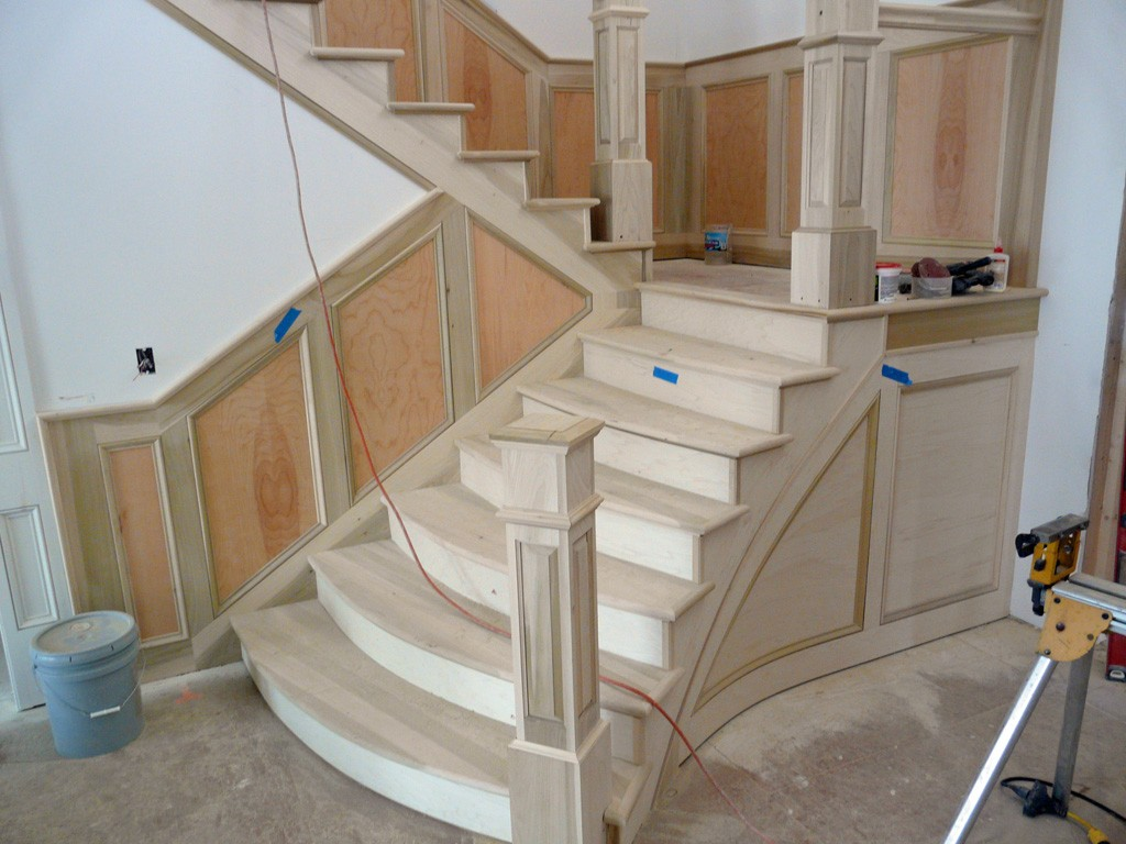 Stairs Rail Molding Ideas