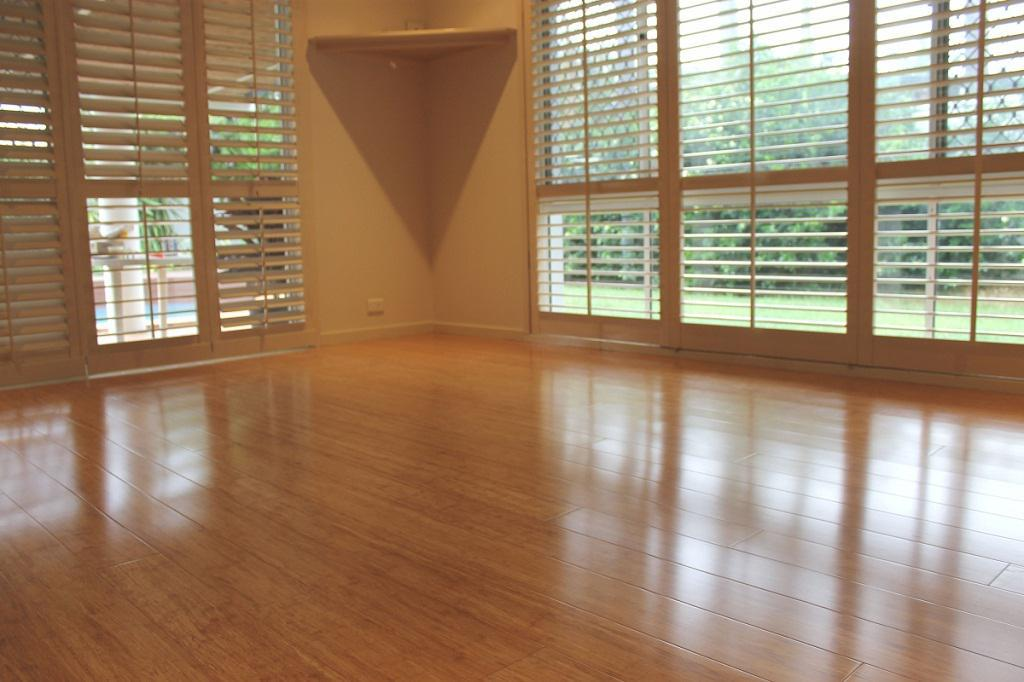 Image of: Strand Carbonized Bamboo Flooring