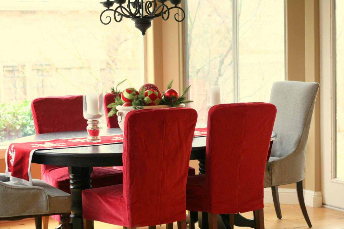 Image of: Stretch Dining Chair Covers