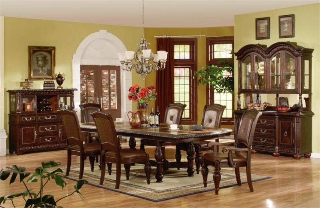 Image of: Traditional Formal Dining Room Sets
