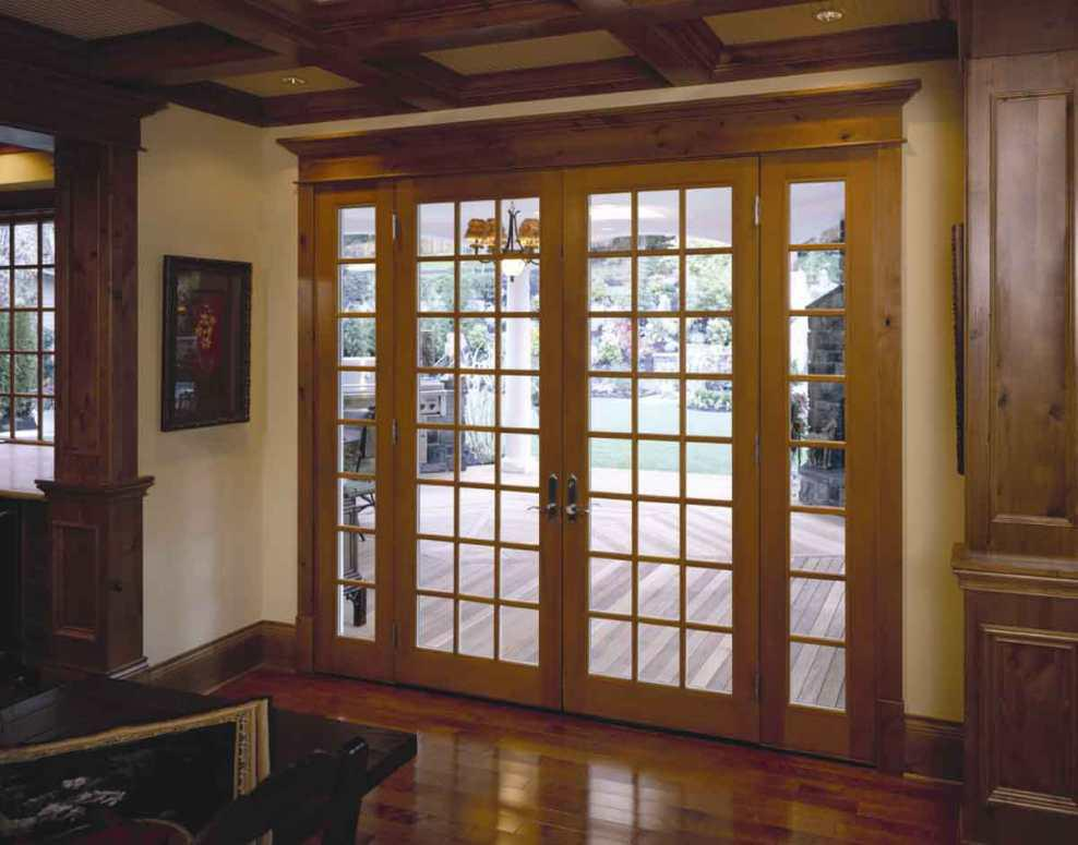 Image of: UPVC French Doors Exterior