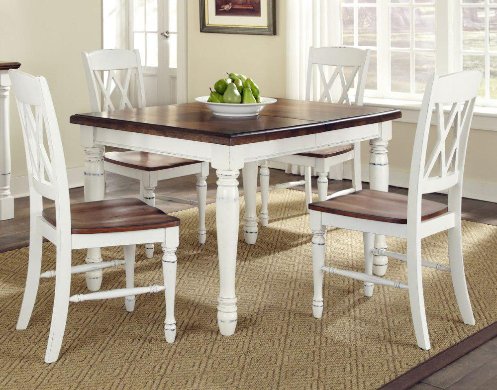 Image of: White Dining Room Furniture