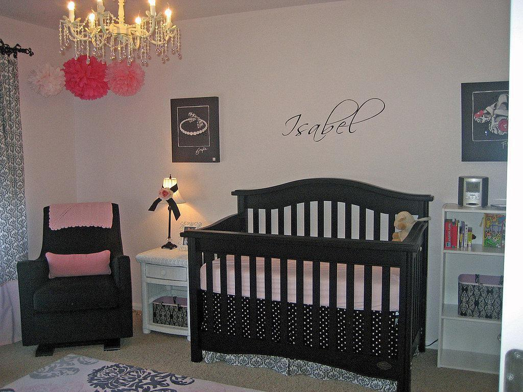 Image of: Baby Girl Nursery Decorating