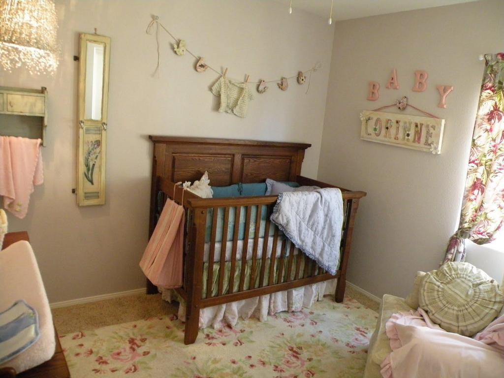 Image of: Baby Girl Nursery Design Ideas