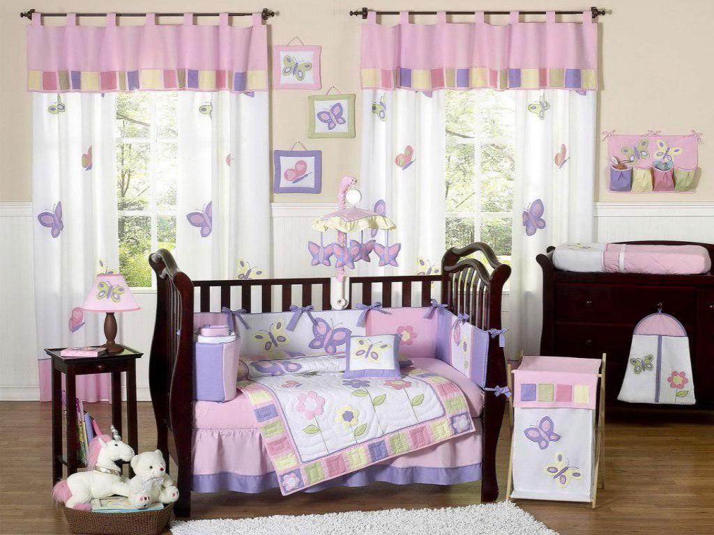Image of: Baby Girl Nursery Designs