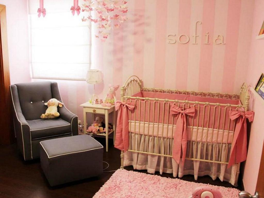 Image of: Baby Girl Nursery Room