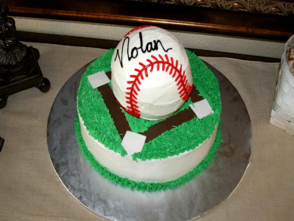Image of: Baseball Cake Decorating Ideas