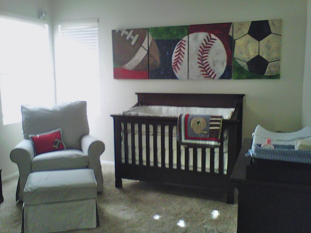 Image of: Baseball Room Decor For Boys