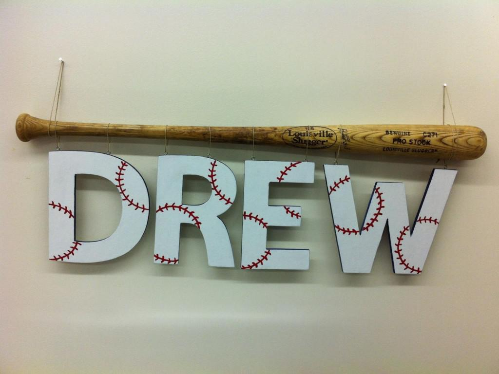 Image of: Baseball Wall Decor
