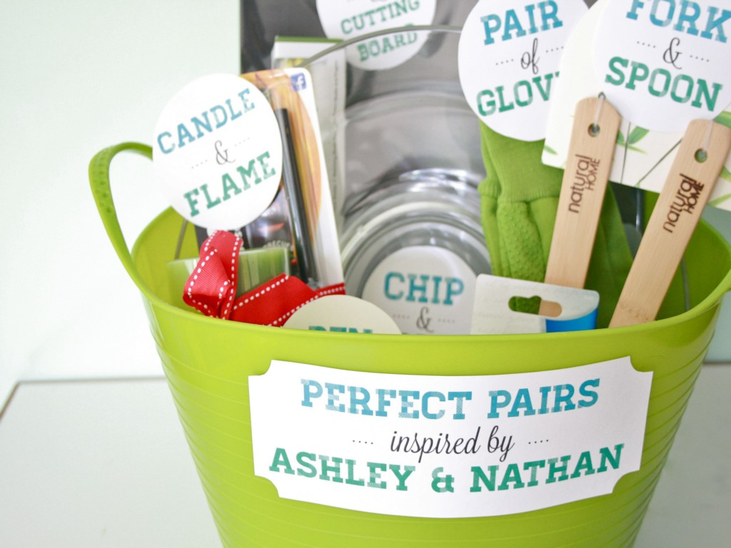 Image of: Bridal Shower Baskets