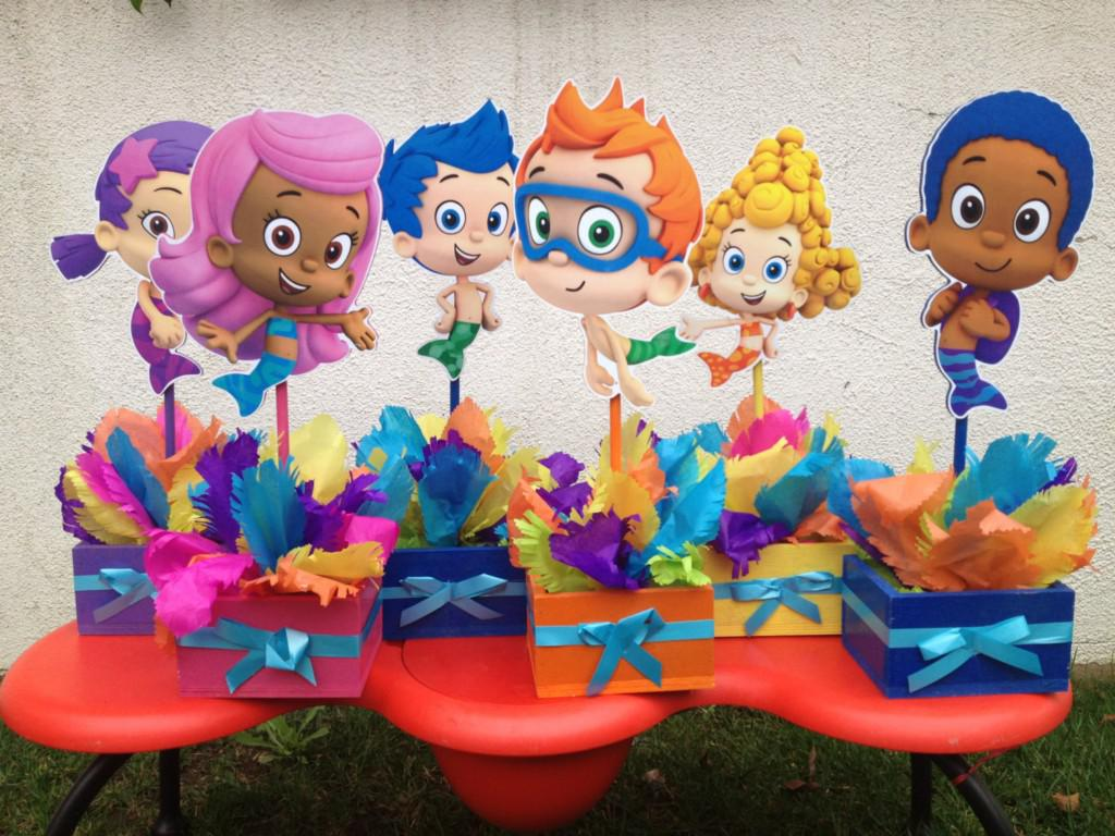 Image of: Bubble Guppies Birthday Party Decorations Gift