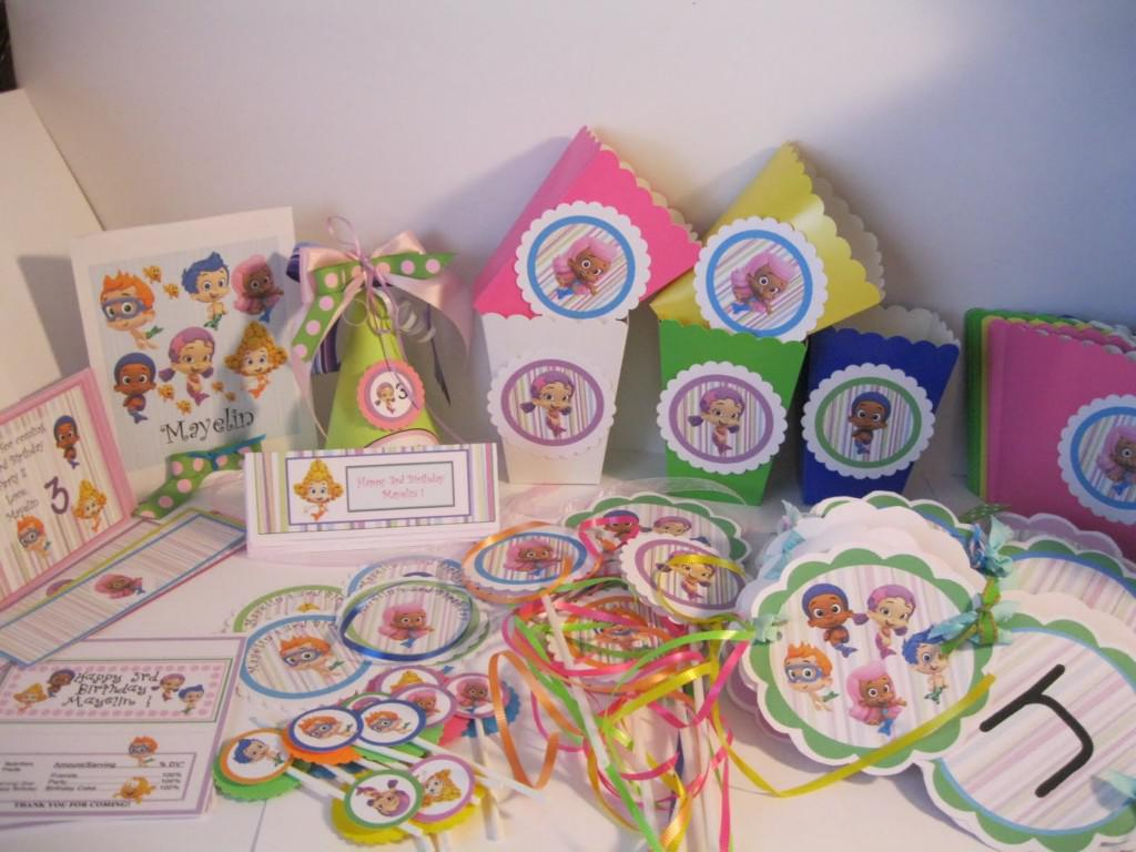 Bubble Guppies Birthday Party Decorations Supplies
