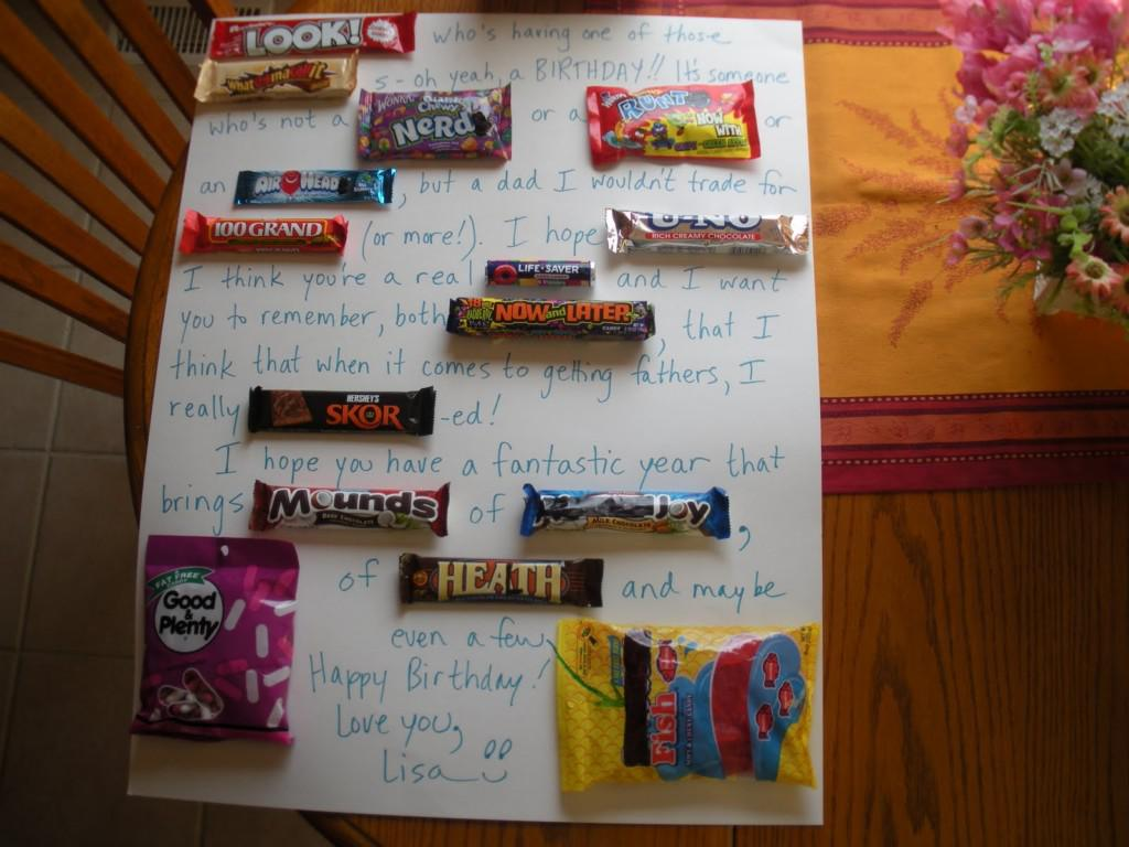 Image of: Candy Grams Ideas For Birthdays