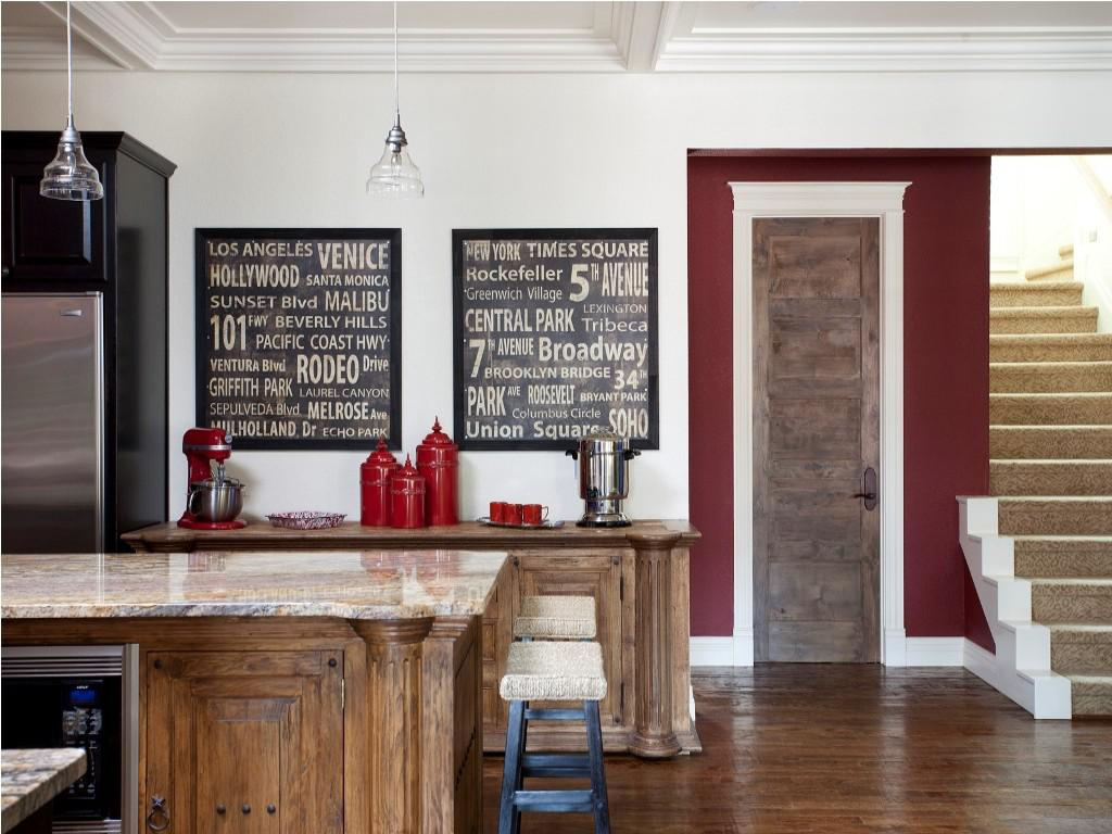 Image of: Chalkboard Kitchen Wall Ideas